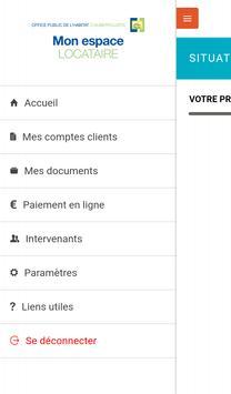 Mon Espace Locataire - OPH Aubervilliers screenshot 1