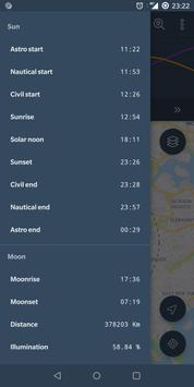 The Sun Ephemeris (Sunset, Sunrise, Moon position) screenshot 3