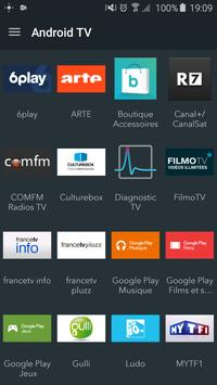 Télécommande Android TV capture d'écran 3