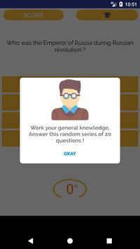 General Knowledge quiz 🥇 screenshot 1