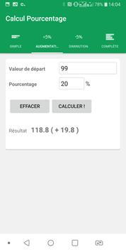 📱 Percentage calculator screenshot 1