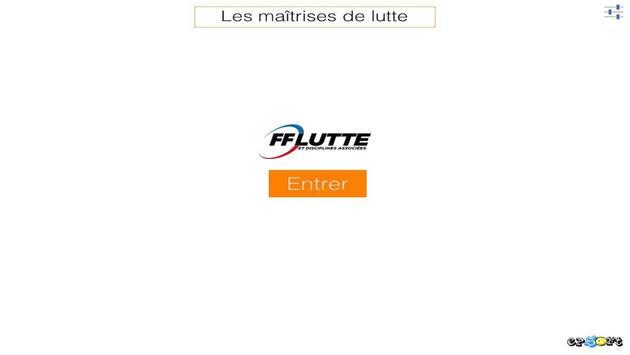 Les Maitrises de Lutte poster