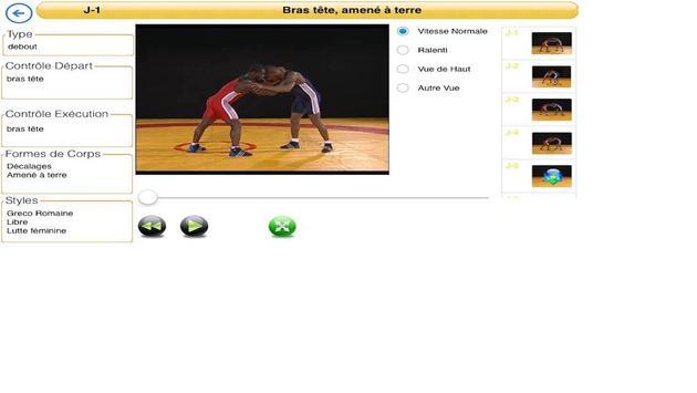 Les Maitrises de Lutte screenshot 2
