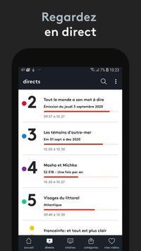 france.tv : direct et replay capture d'écran 1