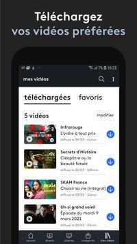 france.tv : direct et replay capture d'écran 3