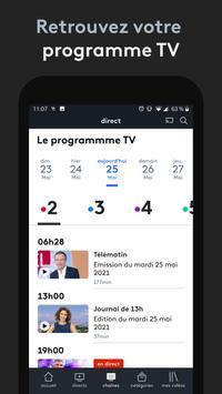 france.tv : direct et replay capture d'écran 2