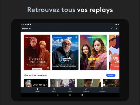 france.tv : direct et replay capture d'écran 7