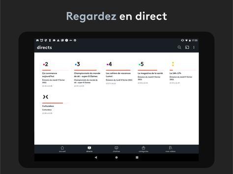 france.tv : direct et replay capture d'écran 8