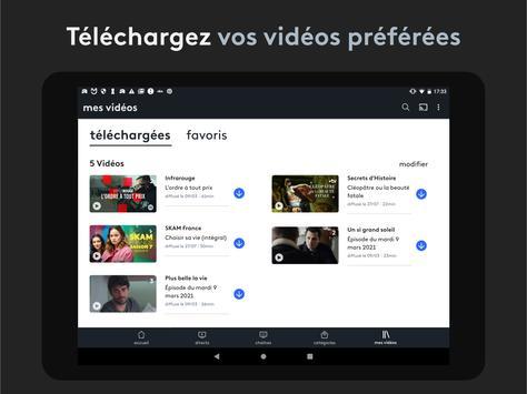 france.tv : direct et replay capture d'écran 10