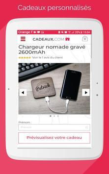 Cadeaux.com screenshot 4
