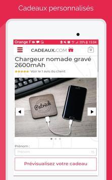 Cadeaux.com screenshot 8