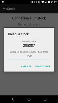 MyStock screenshot 1