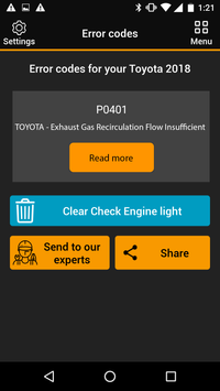 OBDclick screenshot 2
