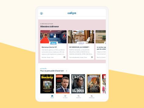 CAFEYN – News, Magazines, Presse capture d'écran 10