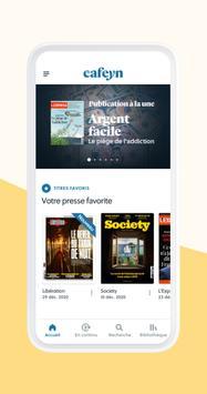 CAFEYN – News, Magazines, Presse capture d'écran 1