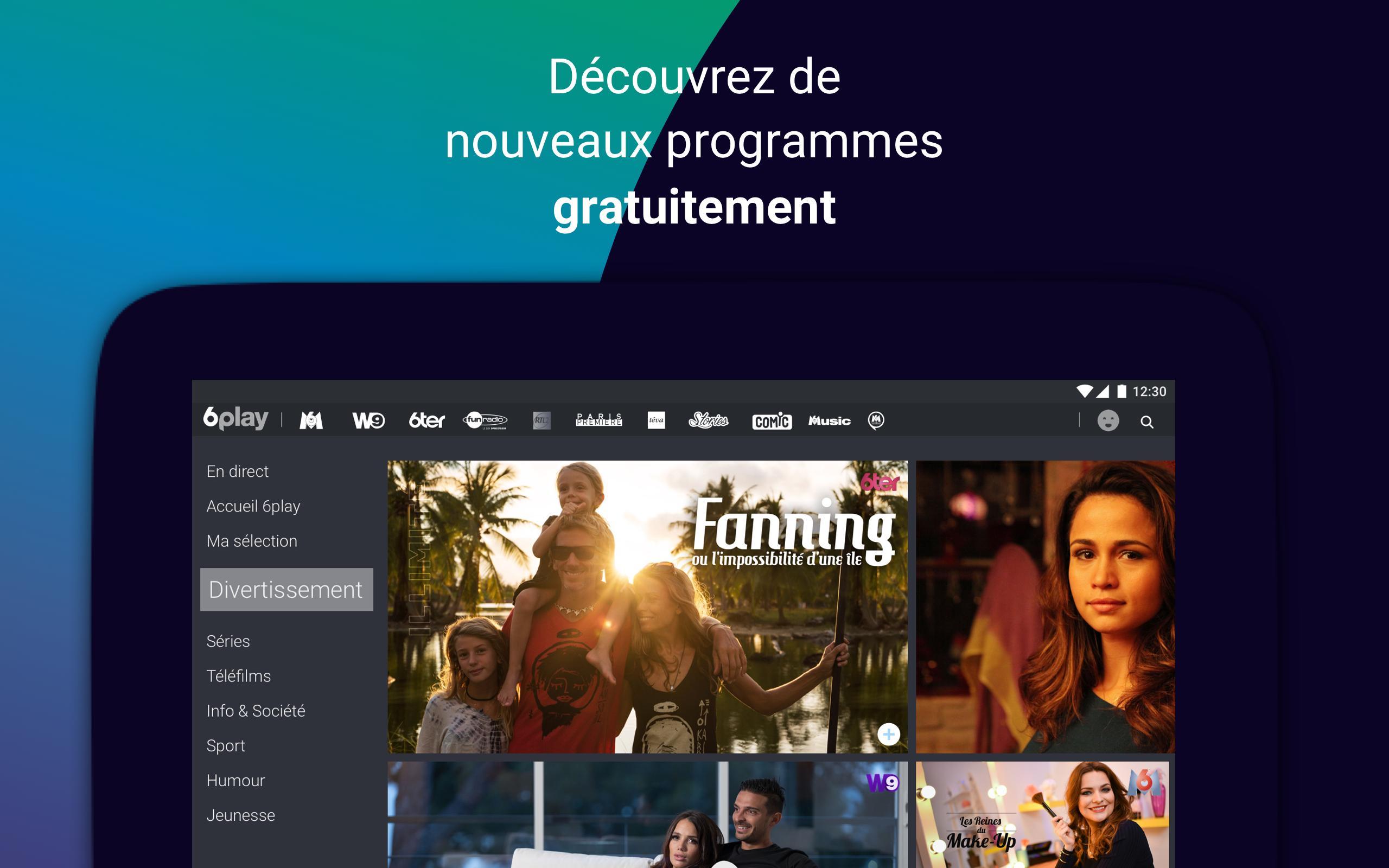 mannen / man beste leverancier promotie 6play, TV en direct et replay for Android - APK Download
