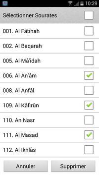 Coran arabe français スクリーンショット 5