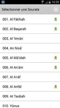 Coran arabe français スクリーンショット 6