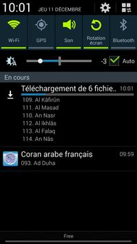 Quran french translation mp3 screenshot 7