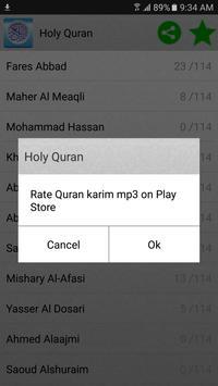 Koran mp3 Screenshot 9
