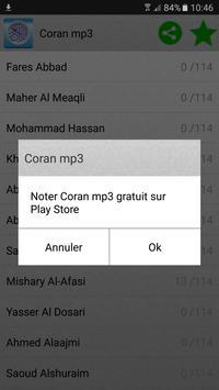 Coran mp3 capture d'écran 10