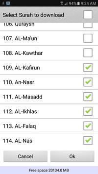 पवित्र कुरान स्क्रीनशॉट 8