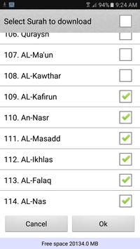 Quran karim mp3 offline screenshot 12