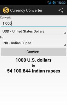 Currency Converter screenshot 3
