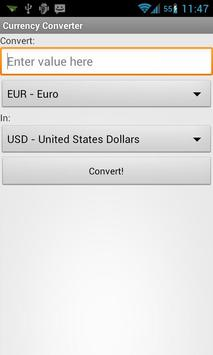 Currency Converter poster
