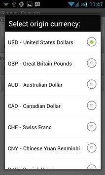 Currency Converter screenshot 1