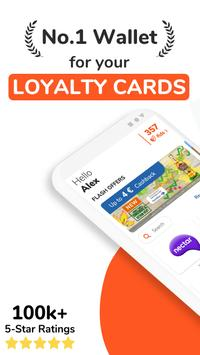FidMe Loyalty Cards & Deals at Grocery Supermarket poster