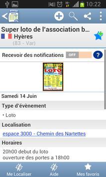 Agenda des lotos screenshot 5