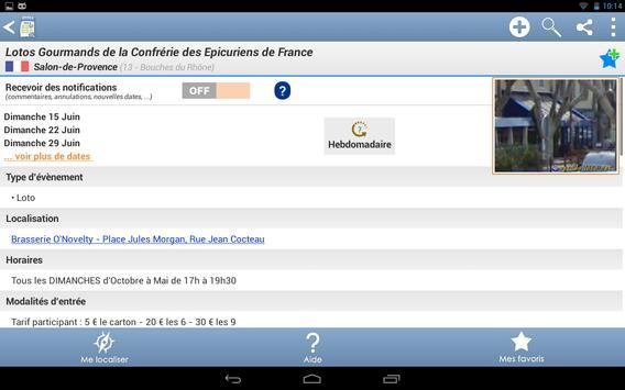 Agenda des lotos screenshot 11