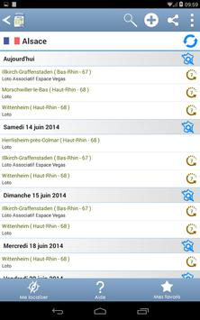 Agenda des lotos screenshot 16