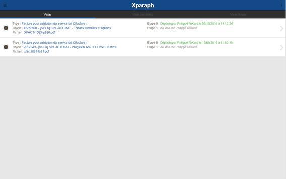 Xparaph screenshot 4