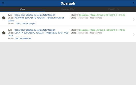 Xparaph screenshot 7