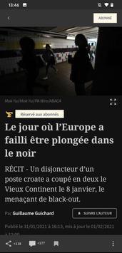 Le Figaro capture d'écran 3