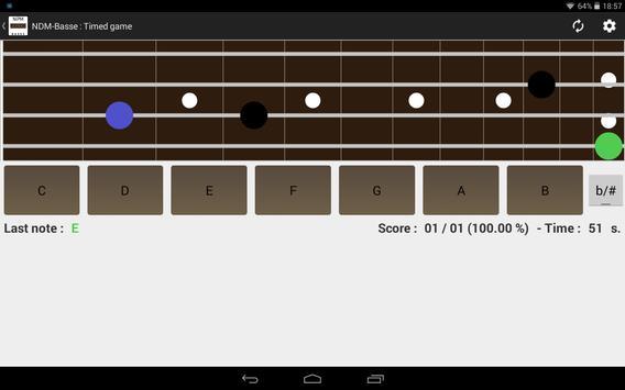 NDM - Bass (Learning to read musical notation) screenshot 5