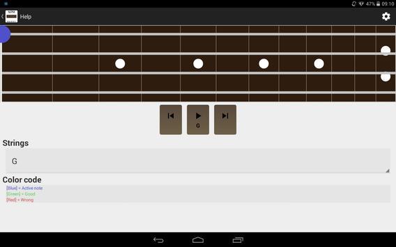 NDM - Bass (Learning to read musical notation) screenshot 6