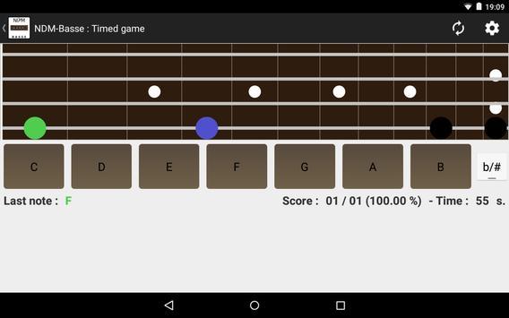 NDM - Bass (Learning to read musical notation) screenshot 7