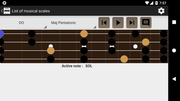NDM - Bass (Learning to read musical notation) screenshot 2