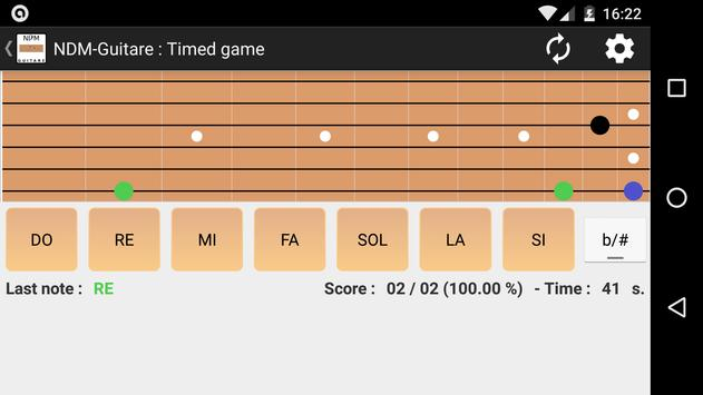 NDM - Guitar (Learning to read musical notation) screenshot 1