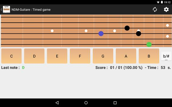 NDM - Guitar (Learning to read musical notation) screenshot 8