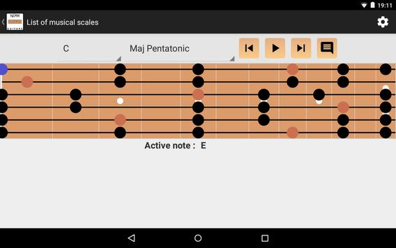 NDM - Guitar (Learning to read musical notation) screenshot 9