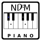 NDM - Piano (Learning to read musical notation) icon