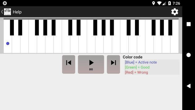 NDM - Piano (Learning to read musical notation) screenshot 3
