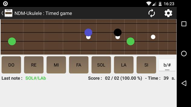 NDM - Ukulele (Learning to read musical notation) screenshot 1
