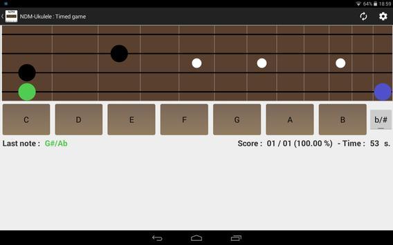 NDM - Ukulele (Learning to read musical notation) screenshot 6