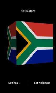 Cube Africa LWP simple screenshot 1