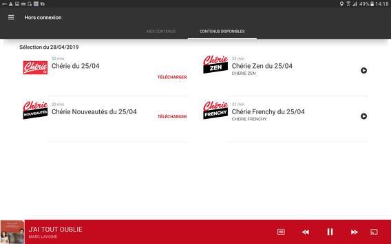 Chérie FM screenshot 14